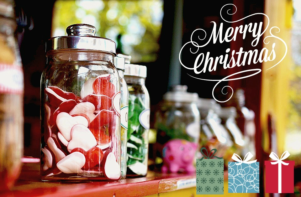 Les bonbons pour Noël sont toujours les bienvenus !